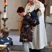 Ein Rucksack für Frau Klans Weg mit der Bischöflichen Maria-Montessori-Grundschule Bautzen. © Elisabeth Meuser