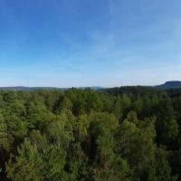 Ein Panoramafoto vom Nonnengipfel aus. © Pfr. Ralph Kochinka