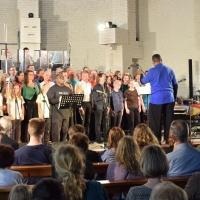 Crimmitschau gospelt unter der Chorleitung von Donald Smith © Foto: M. Guffler
