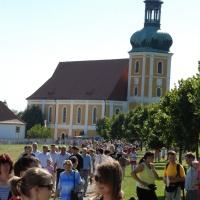 Die Wallfahrtskirche in Rosenthal ist alljährlich das Ziel zahlreicher Wallfahrten. © Michael Baudisch