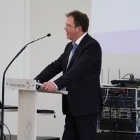 Der Jurist und Experte im kirchlichen Verwaltungsrecht Dr. Martin Pusch aus München schilderte in einem Vortrag die Zusammenhänge um die Entstehung der neuen Gesetzesregelung. © Andreas Golinski