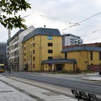 So zeigt sich das Propst-Beier-Haus in diesen Tagen noch. Die Vorarbeiten für den Abriss laufen allerdings bereits. © Michael Baudisch