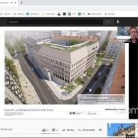 Nachhaltigkeit: Ein wesentlicher Aspekt der Gebäude-Planungen. © Visualisierung:O+M Architekten, Dresden