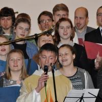 Pfarrer Kochinka singt Gospel bei der Weisiwo in Riesa © Foto: M. Guffler