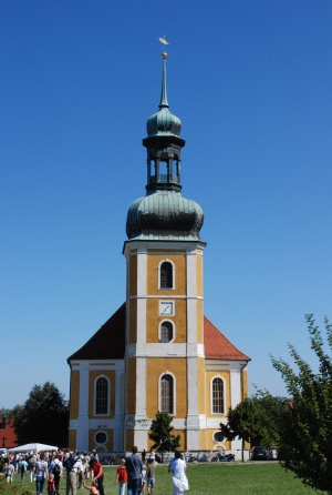 Kirche Rosenthal zur Bistumswallfahrt 2008