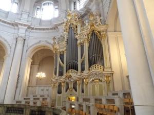Die große Silbermannorgel in der Kathedrale © Felix Löwe, Bistum Dresden-Meißen
